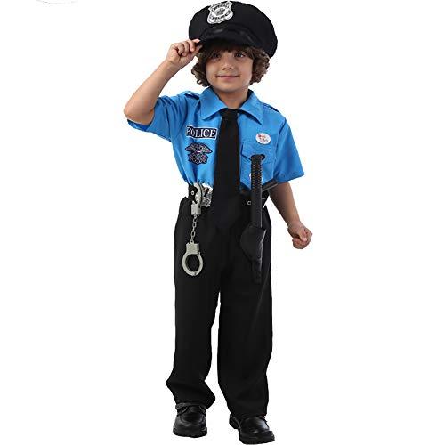 XBSD Party kostuums, Politie Kostuum voor kinderen, handboeien, geweldig voor HALLOWEEN kostuum, FBI, Detective, Swat, en Kids Dress-up kleding.