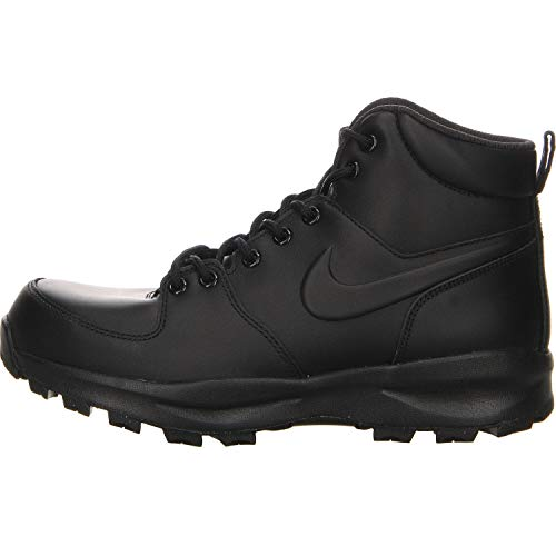 Nike 454350 700 Manoa Leather Herren Sportschuhe/Wandern, Schwarz, 44 EU