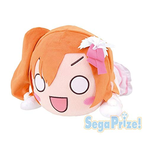 Love Live! Mega Jumbo Nesboeri Plush Honoka Kousaka Snow Halation Version