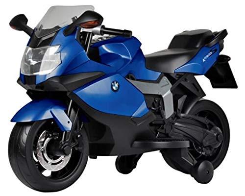 giordanoshop Moto Elettrica per Bambini 12V BMW K1300S Blu