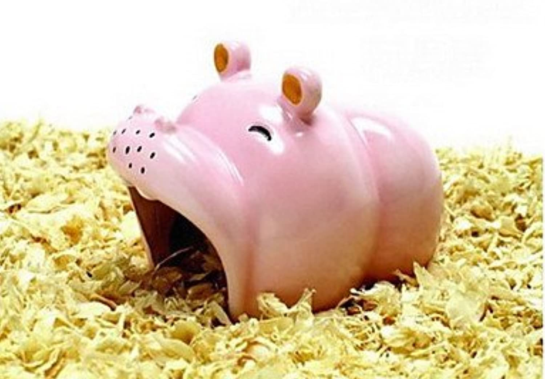 Quick shopping Pet£Link AM062 Hippo Porcelain Cabin for Hamster
