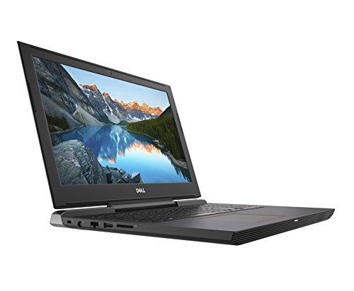 Dell Inspiron 15 7577-0074 38,1 cm (15,6 Zoll FHD IPS AG) Gaming Laptop (Intel Core i7-7700HQ, 16GB RAM, 1TB HDD + 128GB SSD, Nvidia GTX 1050Ti, Win10) schwarz