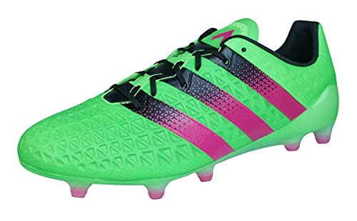adidas Herren ACE 16.1 FG/AG Fußballschuhe, Grün (Solar Green/Shock Pink/Core Black), 41 1/3 EU