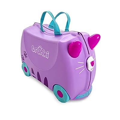 Trunki Children?s Ride-On Suitcase: Cassie Cat (Lilac)