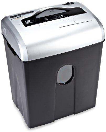 AmazonBasics Destructeur de documents 10 à 12 feuilles coupe croisée avec destructeur de CD Noir...
