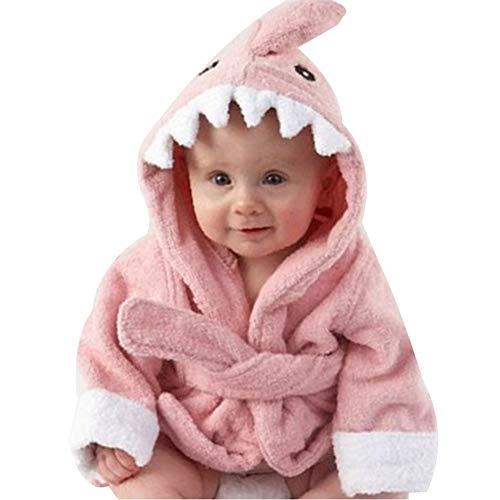 shark bathrobe toddler - 7