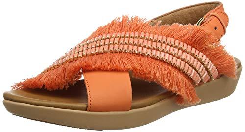 FitFlop Frey Adorn Layla Sandal, Sandalias de Punta Descubierta para Mujer