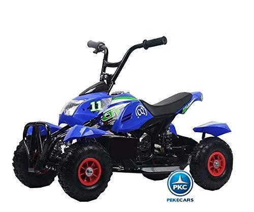 PEKECARS Mega Quad 4100 24V Azul