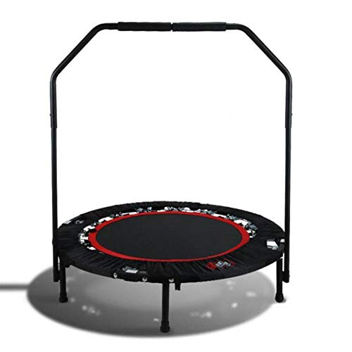 KY&CL Indoor Outdoor Mini Gymnastics Trampoline, Gym Fitness trampoline Spring foldable mini Trampoline trampoline Gym at home,40' foldable
