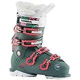 Rossignol All Track Girl Botas Esquí, Niñas, Verde (Flores), 23.5