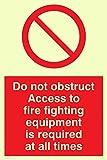 "Viking signos fv364-a4p-pv""no obstruir el"