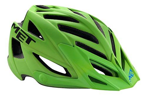MET Fahrradhelm Terra Matt, Green/Black, 54-61 cm, 3HELM91UNVN