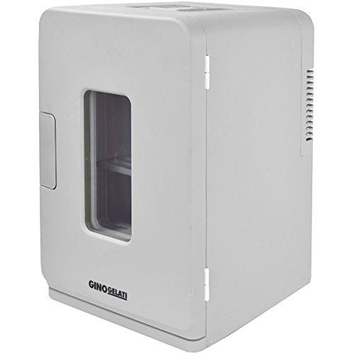 Gino Gelati 15 Liter 2 in 1 Digitaler Mini Kühlschrank Kühlbox Warmhaltebox Campingkühlschrank 12 & 220 Volt, kühlt bis 25°C unter Umgebungstemperatur