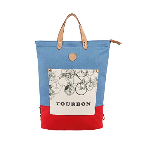 Find Discount TOURBON Bike Pannier Laptop Backpack Bicycle Rear Rack Bag