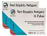 2 Test delle feci per analisi infezione allo stomaco da H. Pylori – 2 Screening fecale per infezioni gastrite dolori a stomaco causati da batterio Pylori