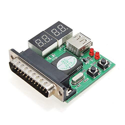 LTH-GD Relais Accessoires d'ordinateurs PC Carte de Diagnostic Carte USB Post mère analyseur testeur for PC Portable 3pcs commutateur de Relais WiFi