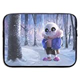 Laptop Sleeve Bag Undertale Tablet Briefcase Ultraportable Protective Canvas for 13 Inch MacBook Pro/MacBook Air/Notebook Computer