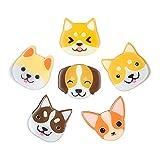 Cute Dog Magnets Fridge Refrigerator Decoration 3D Pattern Suitable for Kitchen...