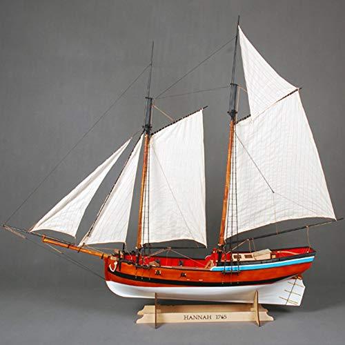 YAOHM EE.UU. Armada clásico Modelo de Barco de Madera Escala 1/20 Kit velero Modelo de Madera