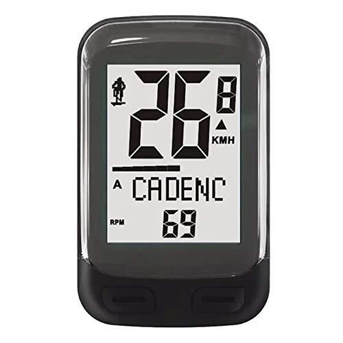 Goodvk Cuentakilómetros para Bicicleta Funciones inalámbricas 23 2.4g Cadence Sensor Bike Computer...