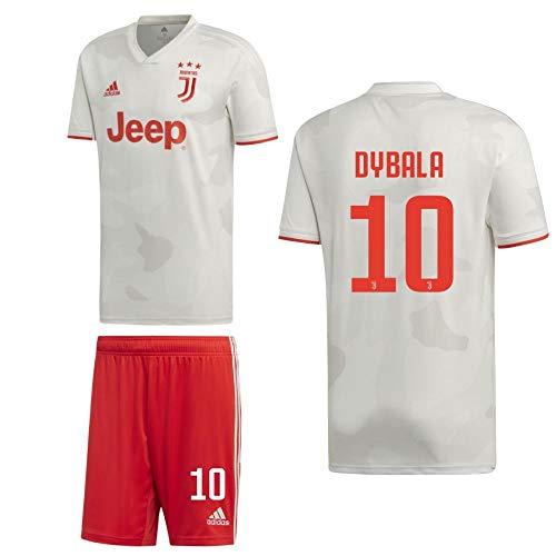 adidas Fußball Juventus Turin FC Away Kit 2019 2020 Auswärtsset Herren Dybala 10 Gr XXL