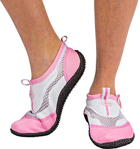 Cressi Unisex Reef Shoes Badeschuhe, Rosa (Weiß/Rosa), 39 EU