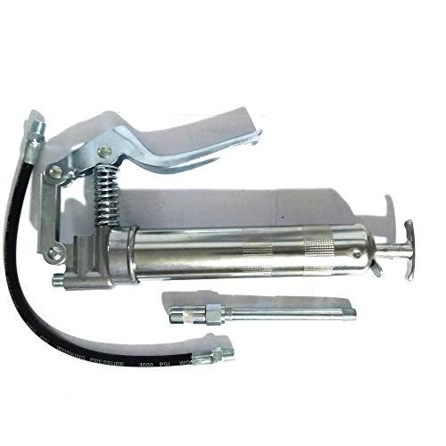 FAST WORLD SHOPPING ® Engrasador manual 120 cc engrasador cabezales bomba grasa pistol grease