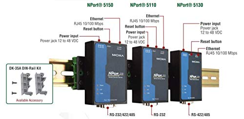 Moxa NPort 5110 - Geräteserver - 100Mb LAN, RS-232