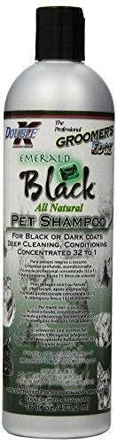 Double K Emerald Shampooing pour Animal de Compagnie à Poils Noirs 473 ML