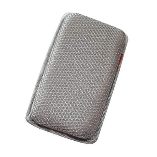 LEXIANG Blanco/Gris 10cm x 18cm Cojín de Esponja para piernas Almohadilla de Rodilla cómoda y elástica Protector de Almohada y Protector de Codo para Uso en la conducción de automóviles