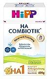 Hipp Milchnahrung, HA 1 Combiotik, 4er Pack (4 x 600 g)