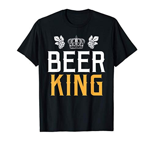 Bière maître alcool roi idée cadeau bière sans gluten T-Shirt
