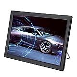 TV digital para automóvil, pantalla LCD TFT-LED 16: 9 de 14 pulgadas TV analógica 1080P, TV digital portátil ATV/UHF/VHF, con 2 altavoces redondos de 32 mm, con sintonizador de alta sensibilidad