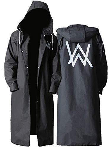 Poncho, draagbare, herbruikbare Rain Poncho Met Hoods en mouwen, niet-toxisch, geen plastic geur, vriendelijk, licht for mannen vrouwen Volwassenen Kids dsnmm (Size : XL)