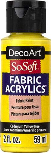 SoSoft tessuto acrilico vernice 2oz-cadmio giallo tonalità