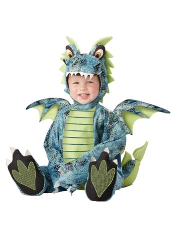 Baby Boys' Darling Dragon Costume 24 Months Blue