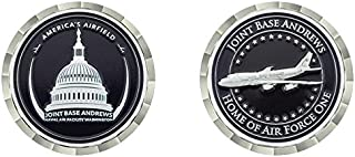 Joint Base Andrews Home of Air Force One Challenge Coin