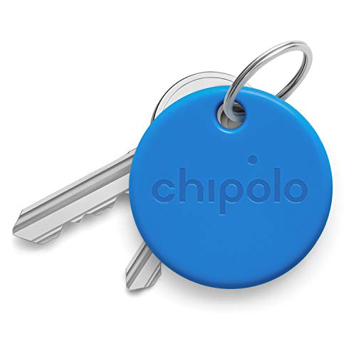 Chipolo ONE (2020) - Trova Chiavi Bluetooth Resistente all'Acqua (Blu)