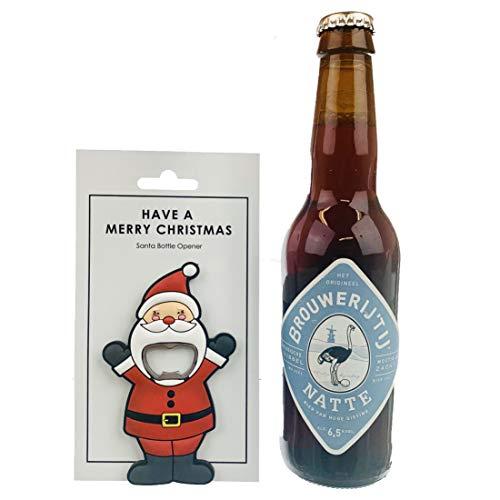 Black Jaguar Flaschenöffner Weihnachten | Bier Flaschenöffner Nikolaus | Geschenke bis 10 Euro | Weihnachten Bieröffner | Wichtelgeschenke | Mitbringsel | Kleines Bier Geschenke 10€