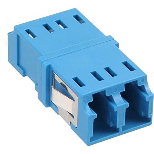 InLine 89989D LWL Kupplung, Duplex LC/LC, singlemode, blau, Keramik-Hülse