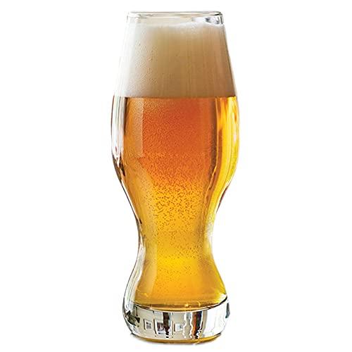 473ml Taza de Cerveza en casa Taza de tulipán de Gran Capacidad Taza de Cerveza Oscura Taza de Cerveza fría Bebo de Vidrio Barra de Vidrio,473ml