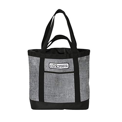 eb's(エビス) スノーボード トート ウィールバッグ CONTAINER TOTE heather grey w36 × h37 × d17cm 22l