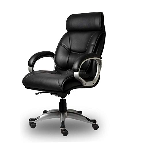 RNG Furnitures Latest High Back Director Boss Executive Revolving Office Chair High Back Support ||Boss Chair Study Chair|| (Black)