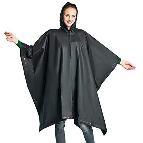 LXJ Regenmantelponcho Mens Frauen, Können Sie for Picknick-Matten, Männer Und Frauen, Wandern Rucksäcke, Regenmäntel, Außen Wandern Raincoat Verwendet Werden (Color : B)