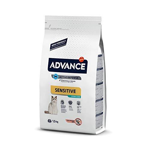 Advance Gato Sterilized Salmón Sensitive 1,5kg