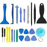 zhangxia Electronics Repair Kits Juego Especialde Herramientas de Apertura 24 en 1 for iPhone 5 y 5S y 5C / iPhone 4 y 4S