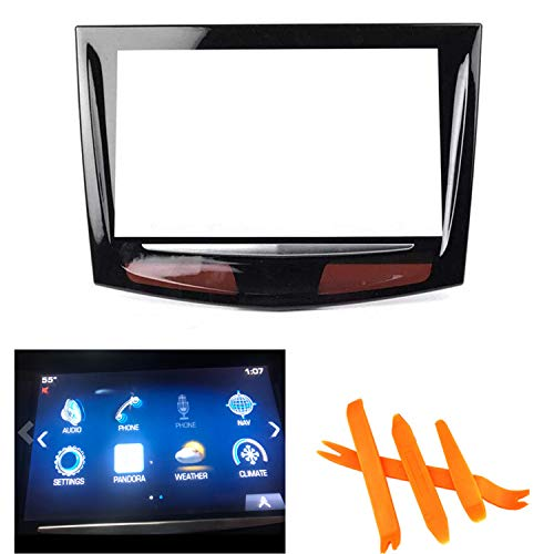 Touch Screen Display for 2013-2017 Cadillac XTS CUE ATS CTS SRX Replacement + Free Trim Tools
