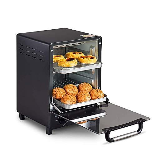 Vertikal Backofen, Backzutaten Multifunktions Automatische, intelligente Mini Pizza-Ofen, Quarz-Schlauch-Infrarot-Heizung, 0 ℃ -220 ℃ präzise Temperaturregelung, Fach-Art Slag Fach, 60 Minuten Zeit HA