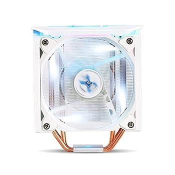 ZALMAN CNPS10X Optima II White Ultra Quiet CPU Cooler with Spectrum RGB LED 120mm,