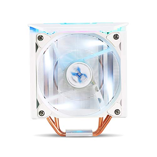 ZALMAN CNPS10X Optima II, White, Ultra Quiet CPU Cooler with Spectrum RGB LED, 120mm,